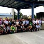 Kolektív zamestnancov spoločnosti Poľno SME v Palárikove