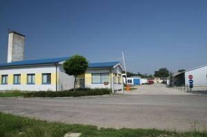 Areál firmy Poľno SME v súčasnosti