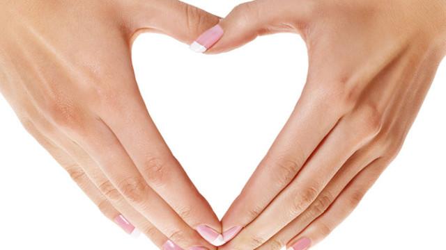 Valentínska masáž rúk